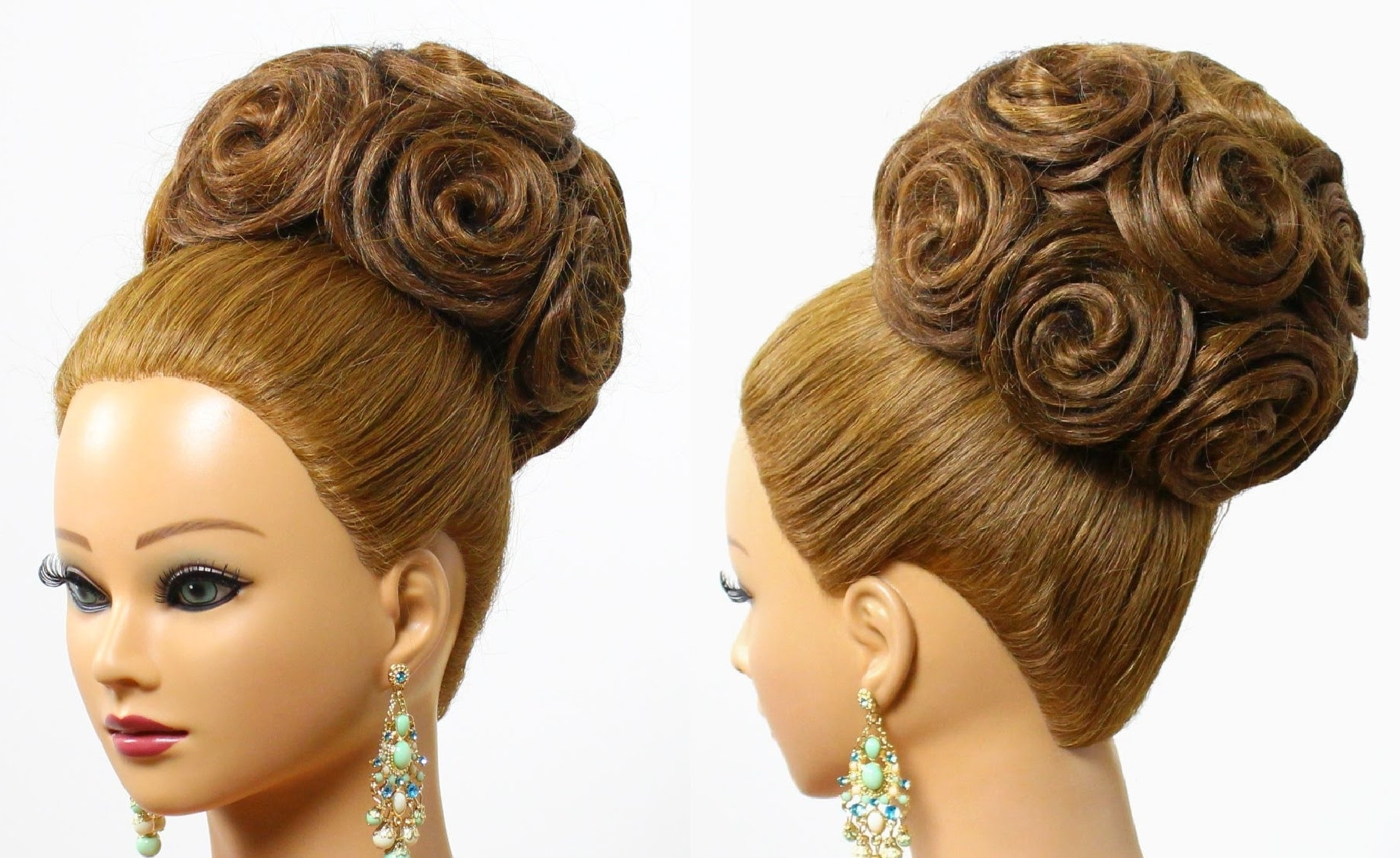 Wedding Bridal Hairstyles | Trend Hairstyle And Haircut Ideas Within Wispy Updo Hairstyles (View 14 of 15)