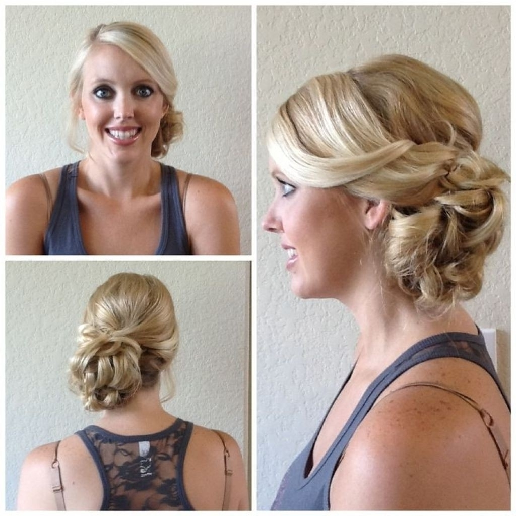 2018 Latest Side Updo Hairstyles