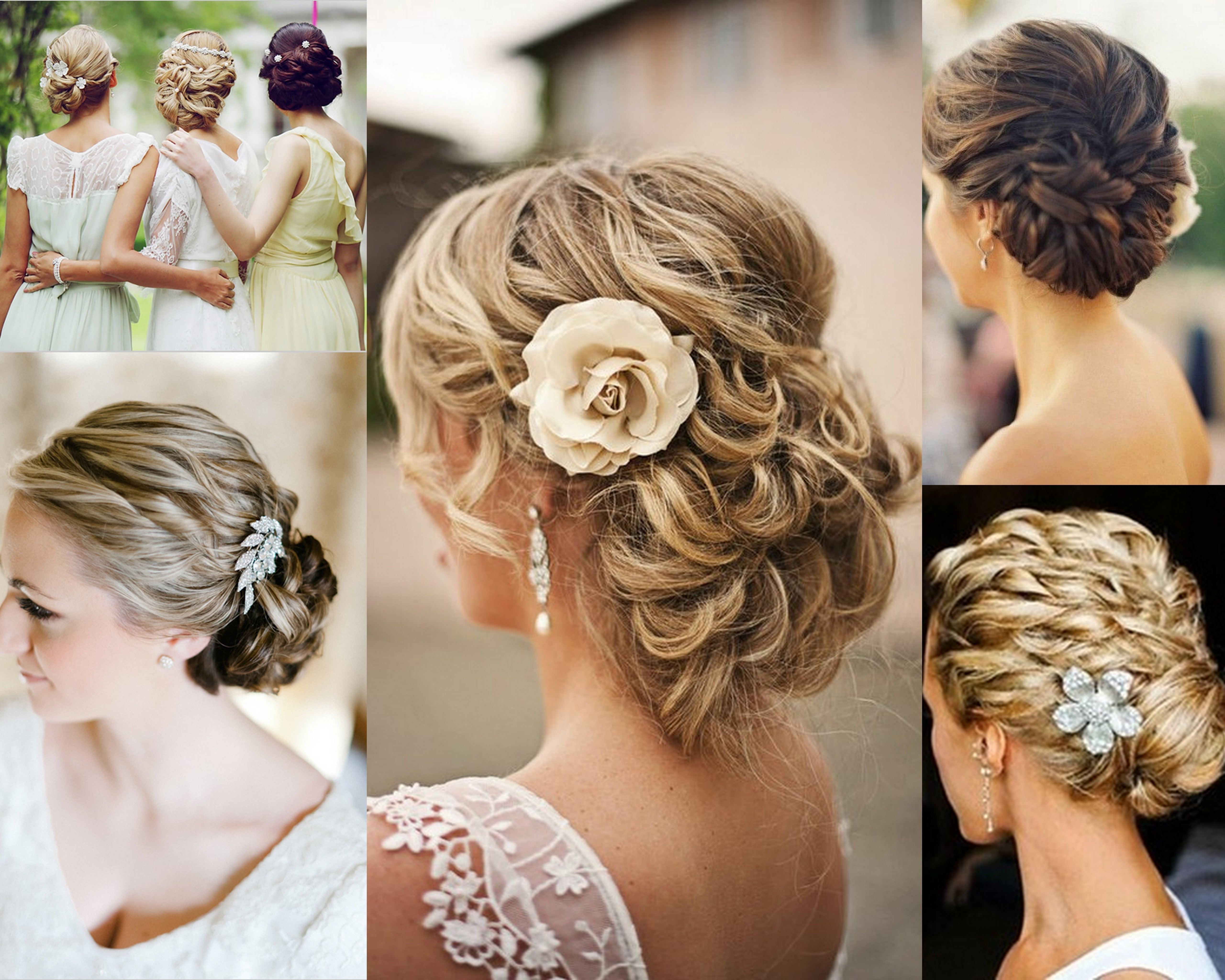 Wedding Hair Updos Yoohair Elegant Updo | Medium Hair Styles Ideas Inside Wedding Hair Updo Hairstyles (View 13 of 15)