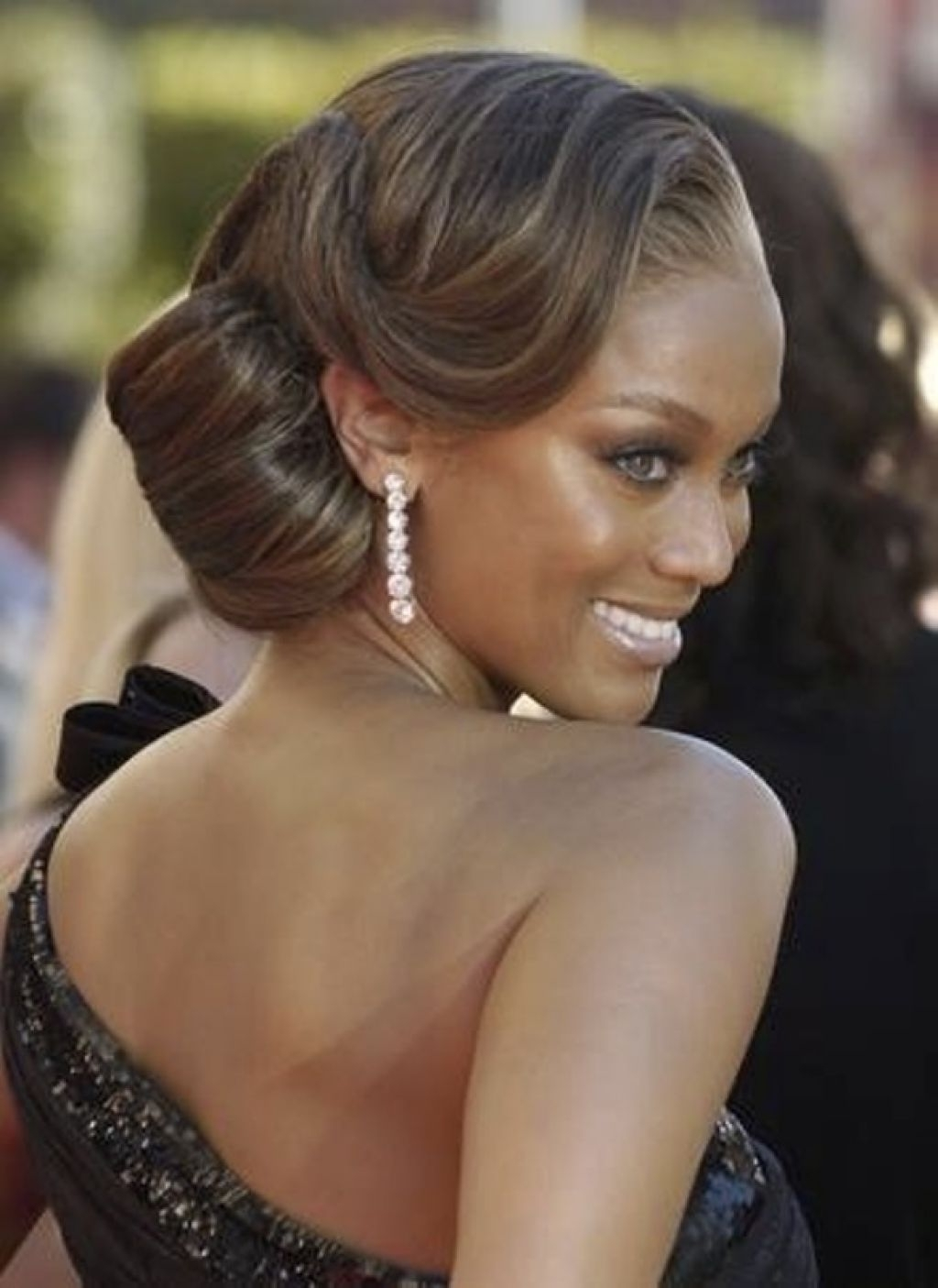 Wedding Hairstyle 4 | Dream Day | Pinterest | African American Throughout African American Updo Wedding Hairstyles (View 13 of 15)