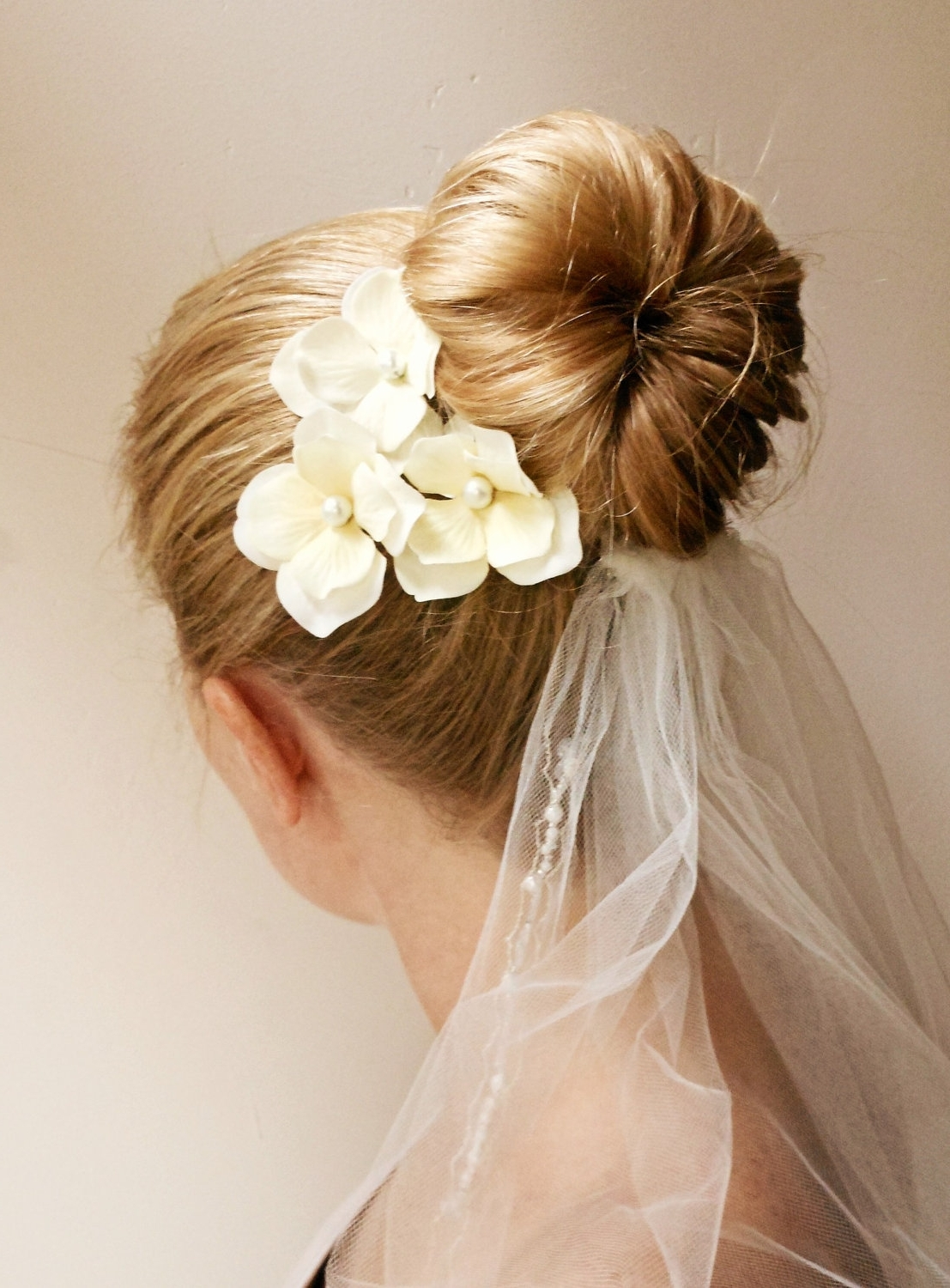 Wedding Hairstyles Ideas: Messy Low Updo Hairstyles For Long Hair Inside Updo Hairstyles With Flowers (View 13 of 15)