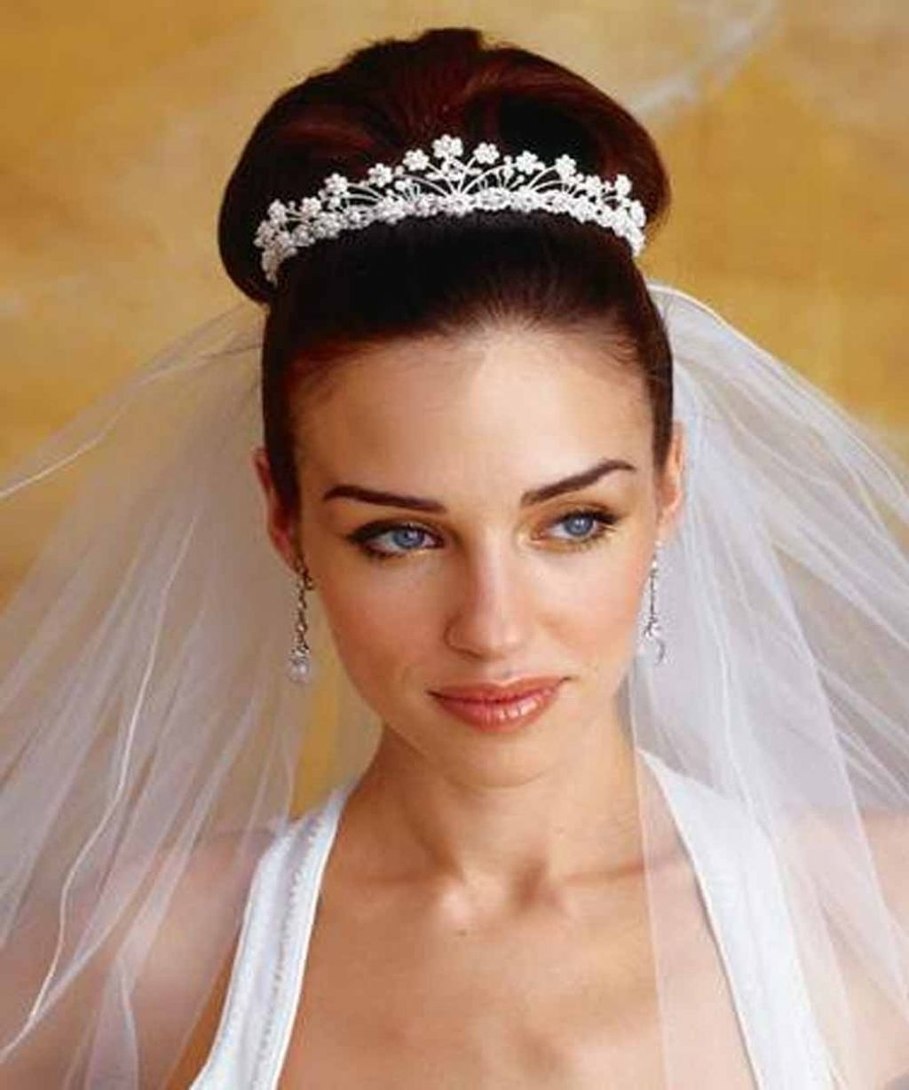 Wedding Hairstyles Long Hair With Veil – Popular Long Hairstyle Idea With Wedding Updo Hairstyles With Veil (View 9 of 15)