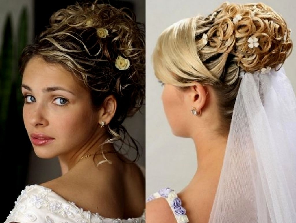 Wedding Hairstyles Updo With Veil | Hairstyles Ideas For Wedding Updo Hairstyles With Veil (View 10 of 15)
