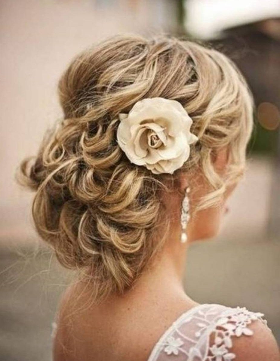 Wedding Updo Bridal Hairstyle For Long Hair Tutorial Best Updos Pertaining To Wedding Updos For Long Hair (View 11 of 15)
