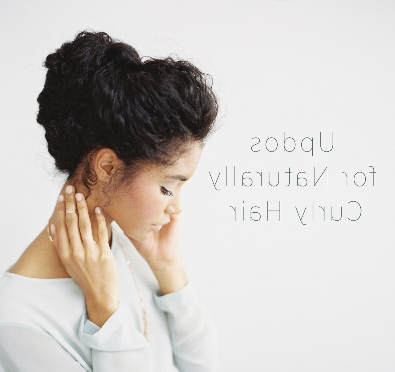 Wedding Updo For Naturally Curly Hair | Diy Weddings | Oncewed Throughout Updos For Curly Hair (View 15 of 15)