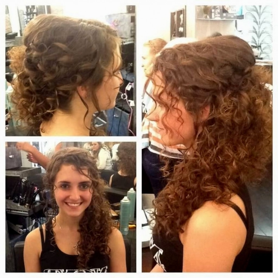 Wedding Updos For Naturally Curly Hair Natural Curly Wedding Intended For Natural Curly Hair Updos (View 6 of 15)