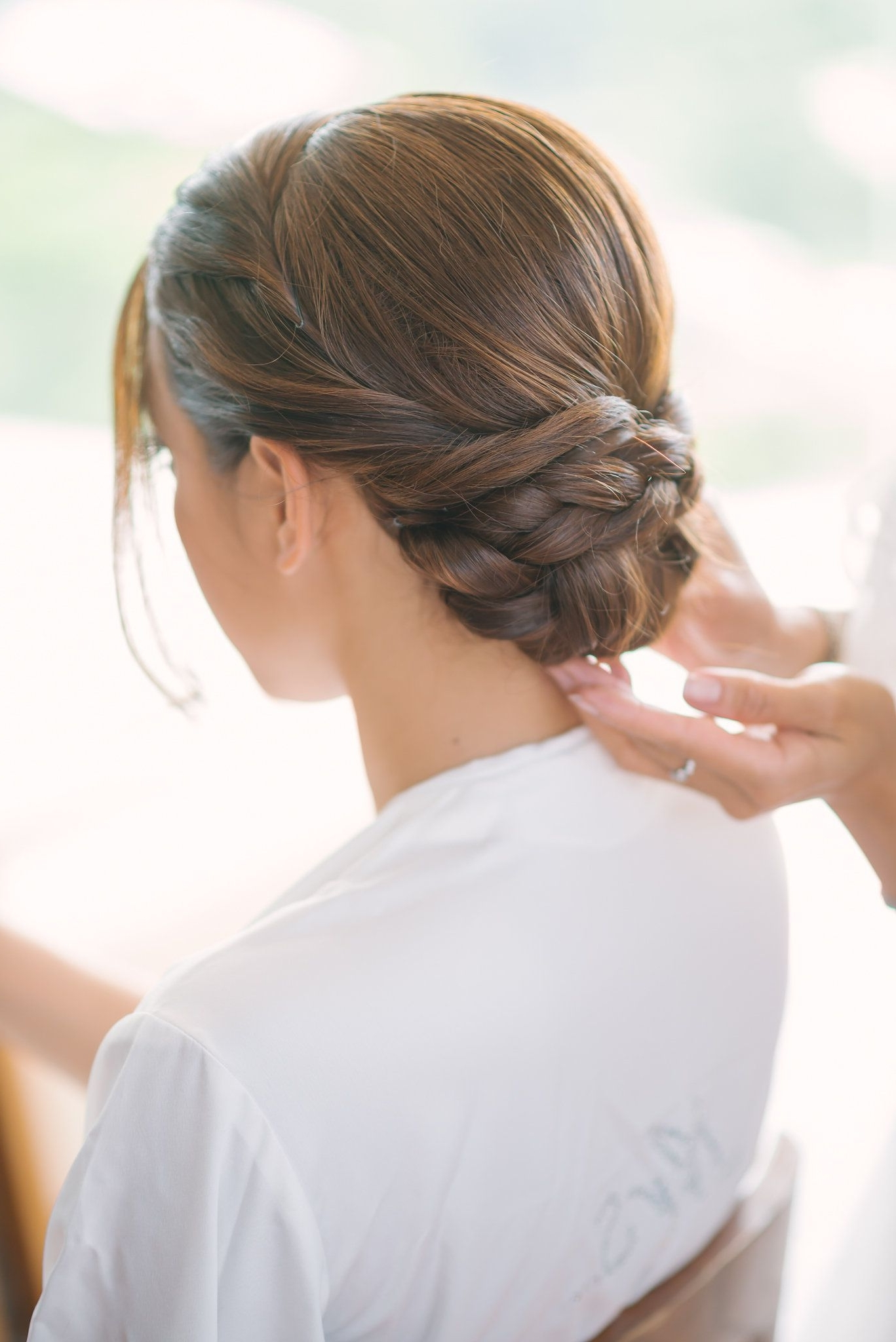 Were You Aware That Happily Ever After Starts On A Beach In Thailand Pertaining To Low Bun Updo Wedding Hairstyles (View 15 of 15)