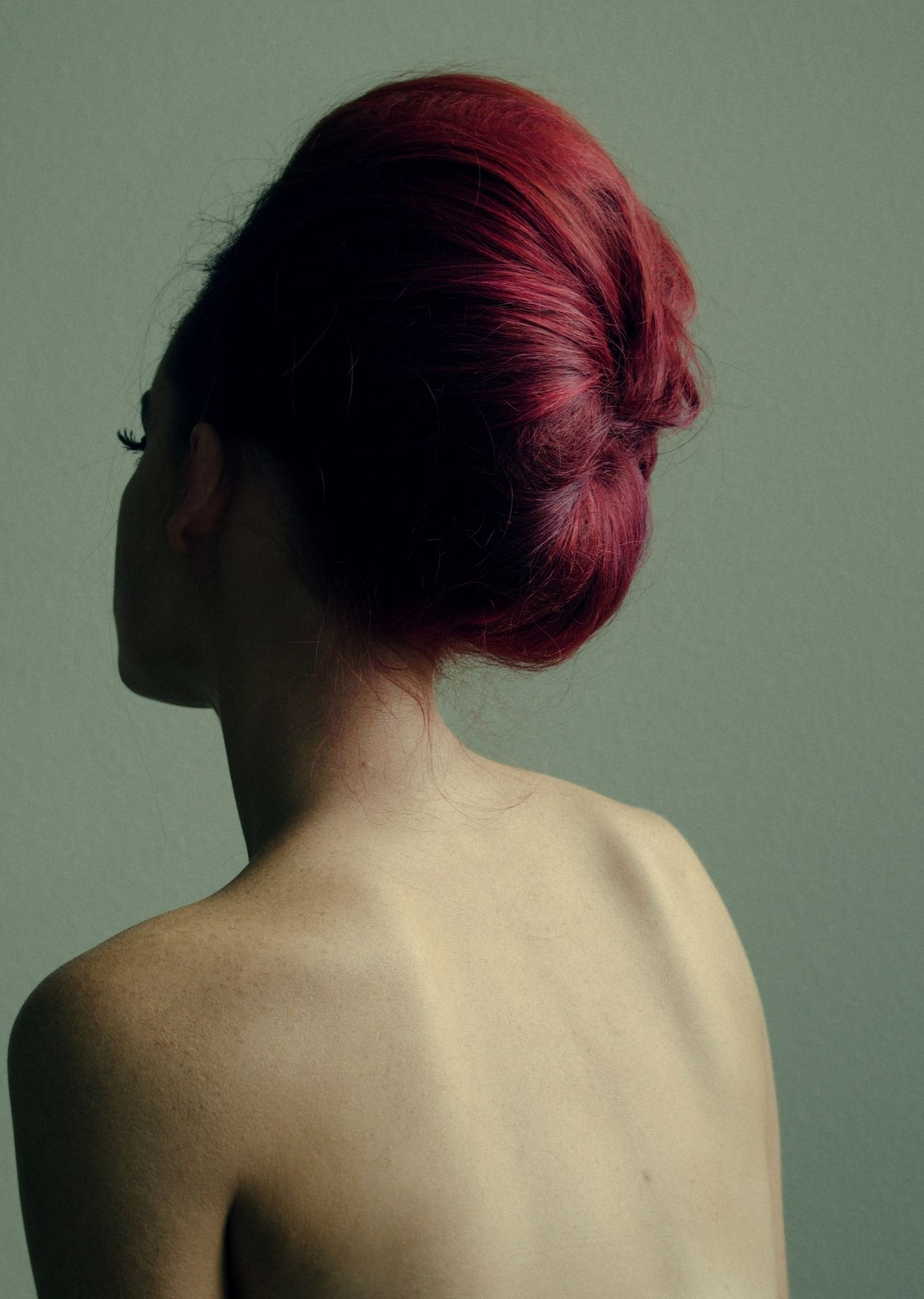 Womens Hairstyle / Red Hair Updo / Red Hair / Redhead / Wedding Updo Inside Updo Hairstyles For Black Tie Event (View 2 of 15)