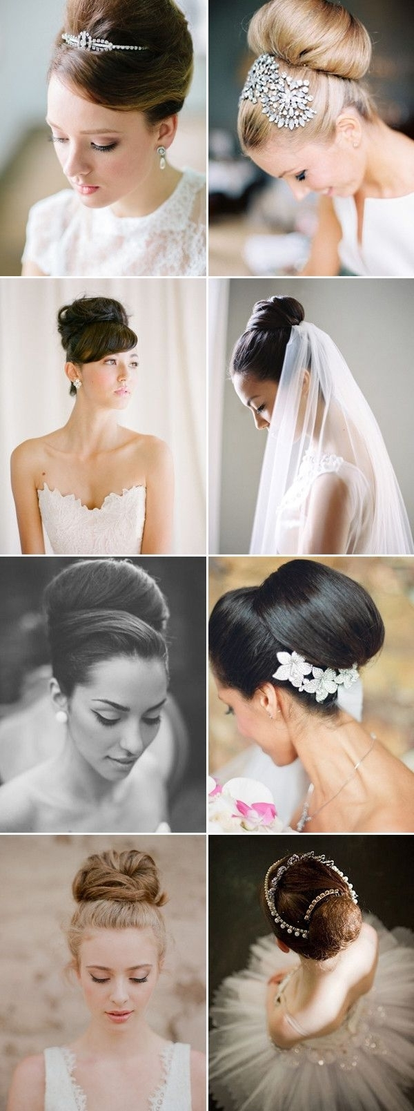 100+ Romantic Long Wedding Hairstyles 2018 – Curls, Half Up, Updos Pertaining To Newest Audrey Hepburn Wedding Hairstyles (View 3 of 15)
