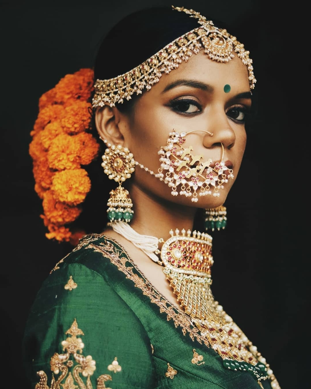 11 Hottest Indian Bridal Hairstyles To Make You Look Like A Diva At For Widely Used Indian Wedding Hairstyles (View 1 of 15)