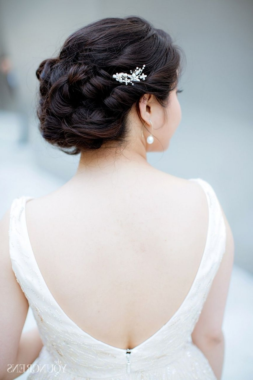 120+ Most Classic Bridal Wedding Hairstyles To Inspire Your Big Day Within Favorite Classic Wedding Hairstyles (View 1 of 15)