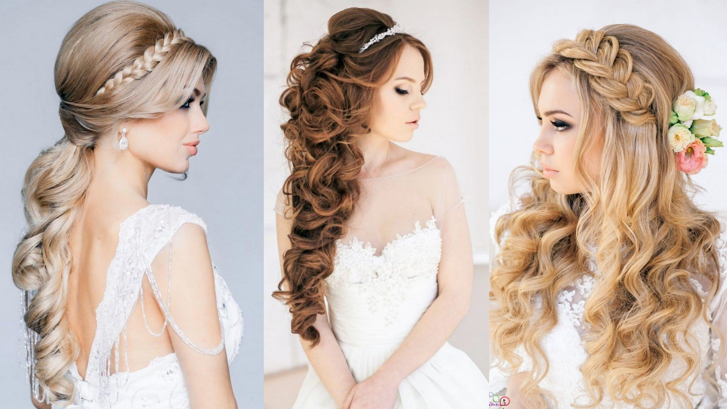 15 Best Bridal Hairstyles Ever – Youtube Inside Newest Wedding Hairstyles Like A Princess (View 1 of 15)