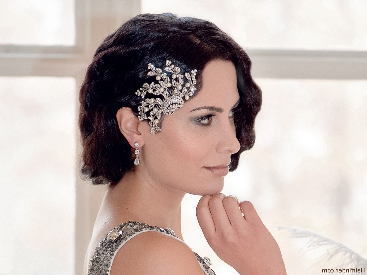 1920's Hairstyles And Haircuts Of The Twenties Throughout Best And Newest 1920S Era Wedding Hairstyles (View 2 of 15)