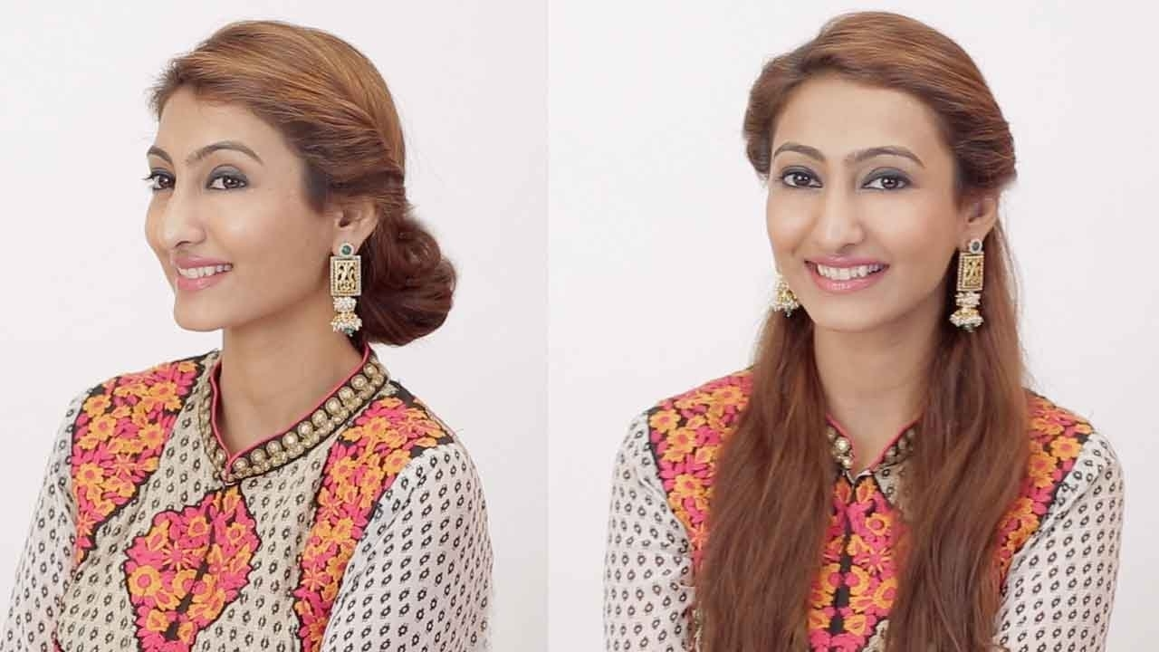 2 Hairstyles For Indian Wedding Occasions (View 1 of 15)