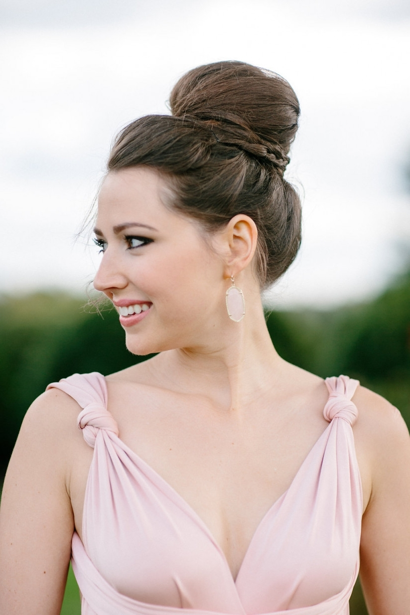 20 Bridesmaid Hairstyles For All Hair Types – Weddingwire In Most Recent Summer Wedding Hairstyles For Bridesmaids (View 15 of 15)