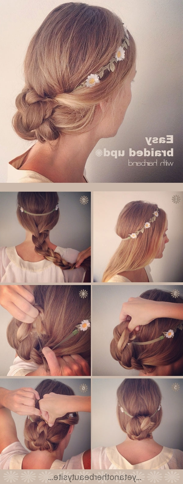 20 Diy Wedding Hairstyles With Tutorials To Try On Your Own Regarding Newest Diy Wedding Hairstyles (View 3 of 15)