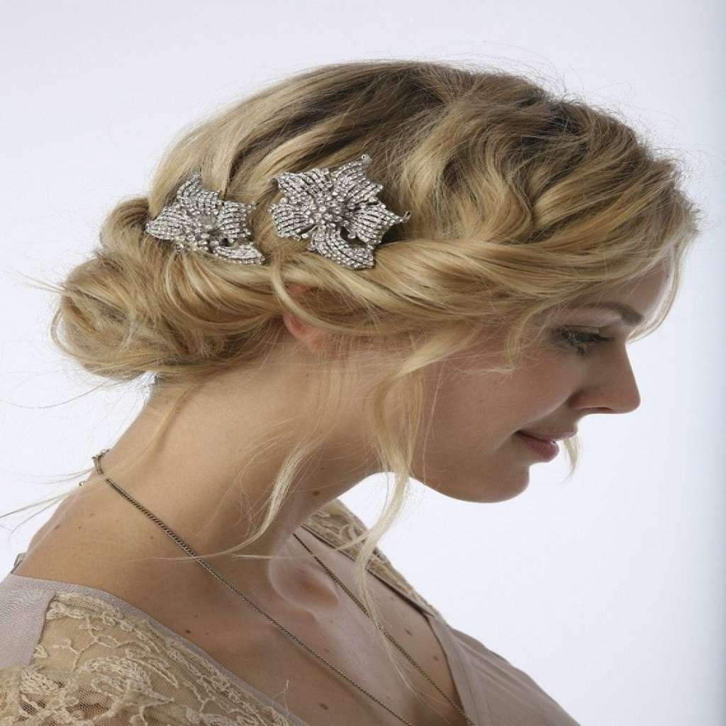 20 Lovely Images Of Vintage Wedding Hairstyles For Medium Length Intended For Best And Newest Vintage Wedding Hairstyles For Medium Length Hair (View 1 of 15)