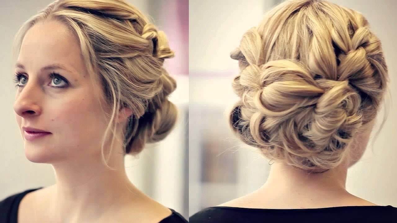 2017 Easy Wedding Guest Hairstyles For Short Hair In Wedding Guest Hair Up For Short Hair Salon Longfield Kent – Youtube (View 1 of 15)