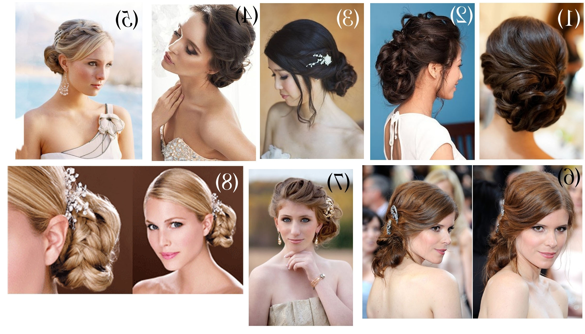 2017 Low Updo Wedding Hairstyles In Pleasing Low Bun Wedding Hairstyle About Low Updo Wedding Hairstyles (View 4 of 15)