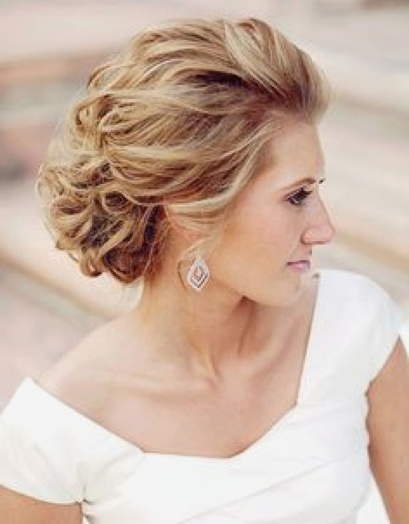 2017 Medium Length Updo Wedding Hairstyles Within Brilliant Medium Length Hair 2017 Medium Length Hair Pinterest Updos (View 14 of 15)
