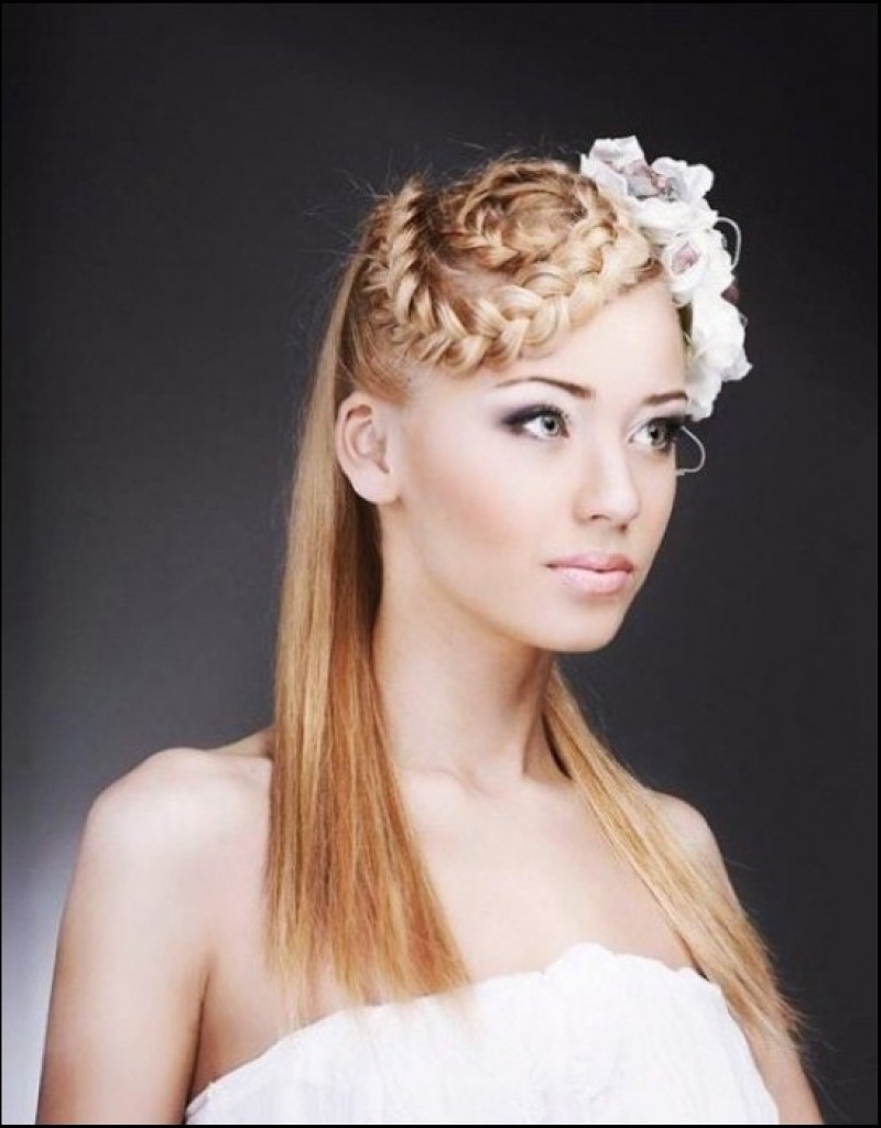 2017 Pin Up Wedding Hairstyles With Half Up Wedding Hairstyles Best Hair Ideas On Pinterest For Pictures (View 14 of 15)
