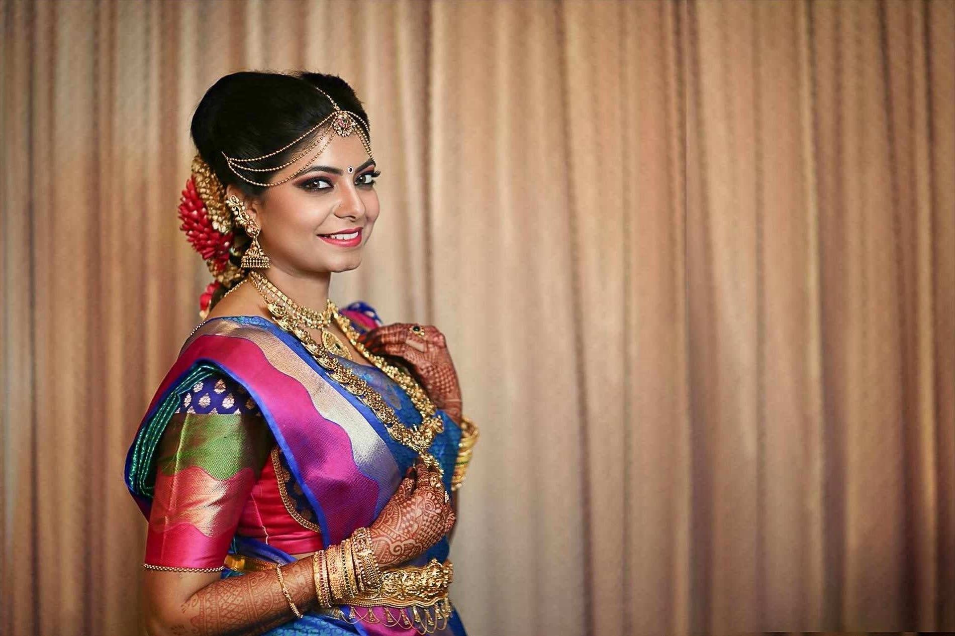2017 South Indian Wedding Hairstyles For Endearing Hairstyle For Bride South Indian Wedding With Additional (View 7 of 15)