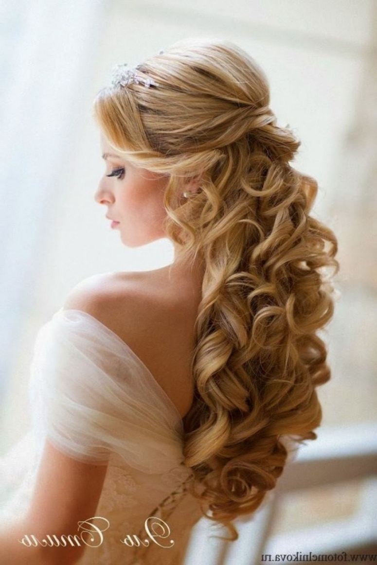 2017 Wedding Hairstyles For Long Thin Hair Inside Wedding Hairstyles Half Up Thin Hair – Hairstyles Ideas • Sandefur (View 4 of 15)