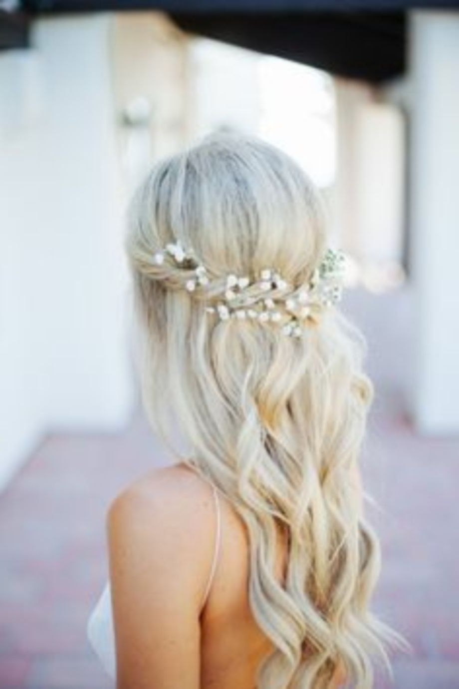 2018 Beach Wedding Hair For Bridesmaids Pertaining To Fascinating Romantic Casual Beach Wedding Hairstyles Ideas Of (View 3 of 15)