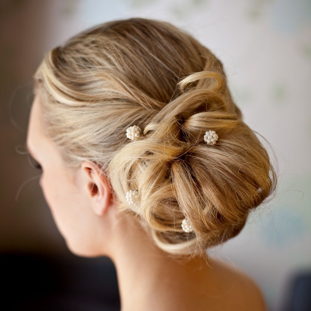 2018 Buns To The Side Wedding Hairstyles For Wedding Hairstyles Side Bun (View 1 of 15)