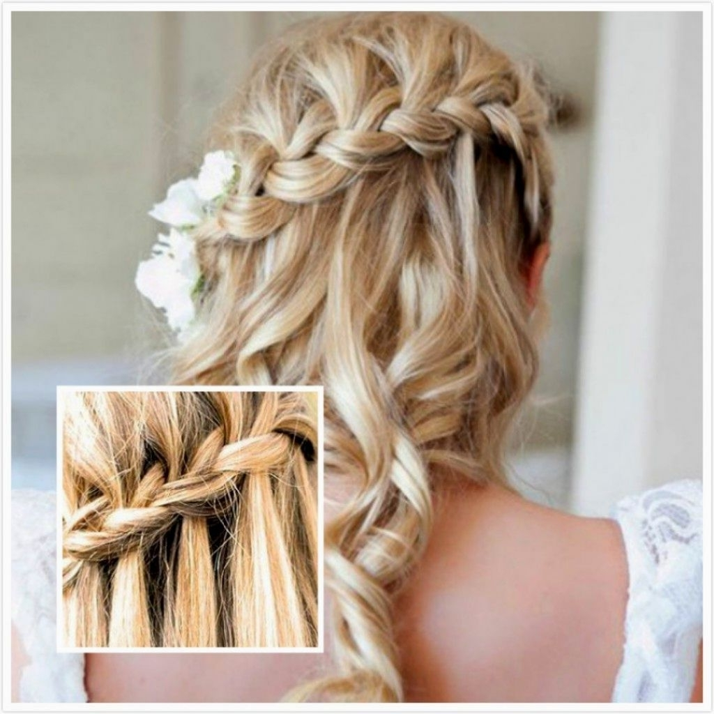 2018 Hairstyles For Medium Length Hair For Wedding With √ 24+ Nice Wedding Hairstyles For Shoulder Length Hair: Bridesmaid (View 3 of 15)