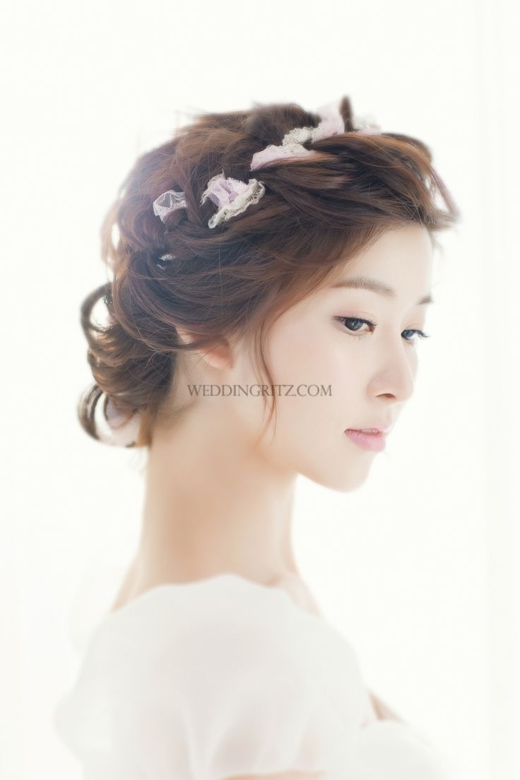 2018 Korean Wedding Hairstyles Intended For The Best Wedding Hairstyles Asian About Korean Bridal Of For Popular (View 5 of 15)
