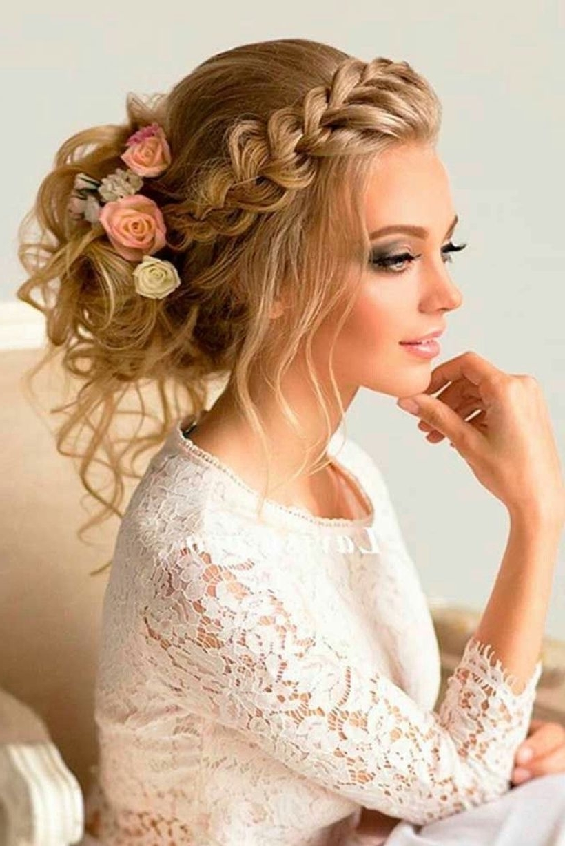 2018 Rustic Wedding Hairstyles With Regard To 100 Gorgeous Rustic Wedding Hairstyles Ideas That Must You See Https (View 3 of 15)