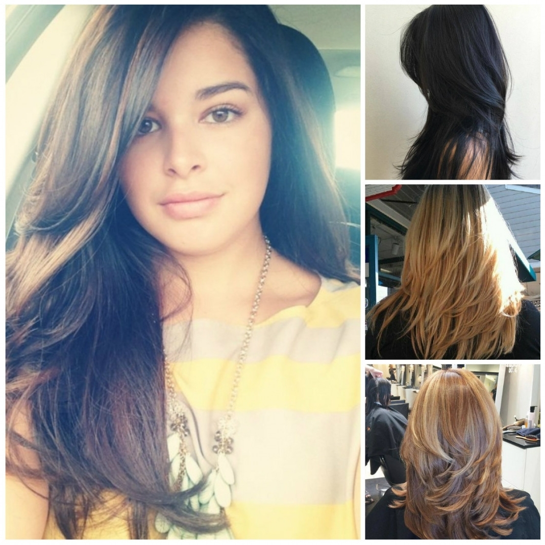 2018 Wedding Hairstyles For Long Layered Hair For Wedding Hairstyles For Long Hair With Bangs – Hairstyle For Women (View 11 of 15)
