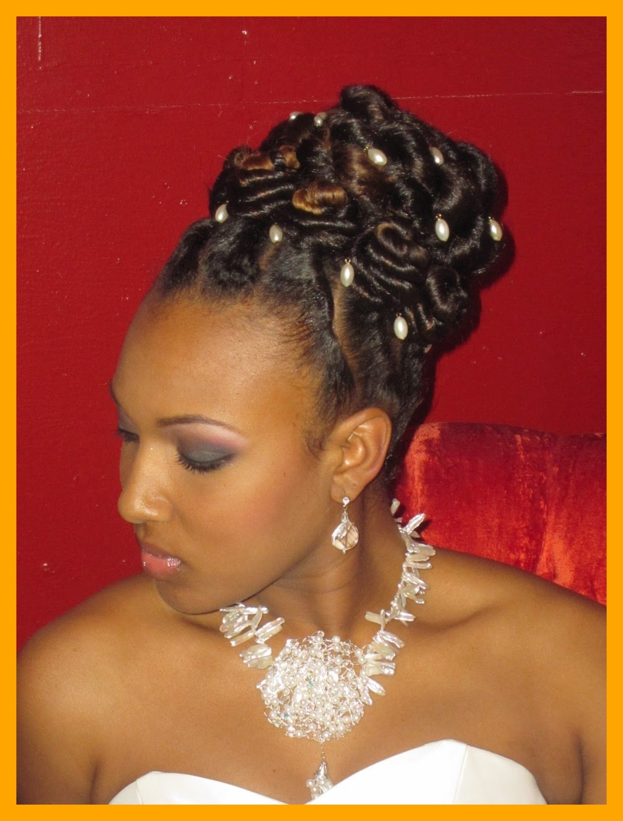 2018 Wedding Hairstyles For Natural African American Hair For Awesome Natural Styles For Braids Locs Twists U Hair Pic Wedding (View 1 of 15)