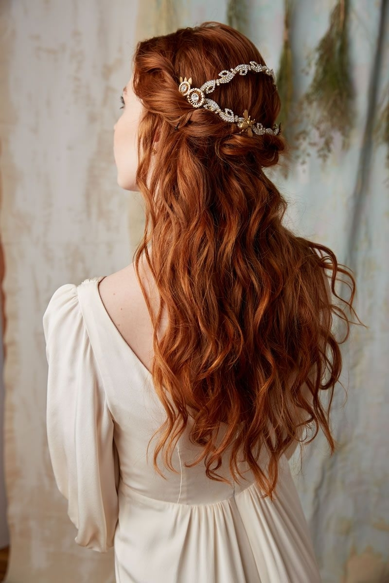 Featured Photo of Wedding Hairstyles For Red Hair