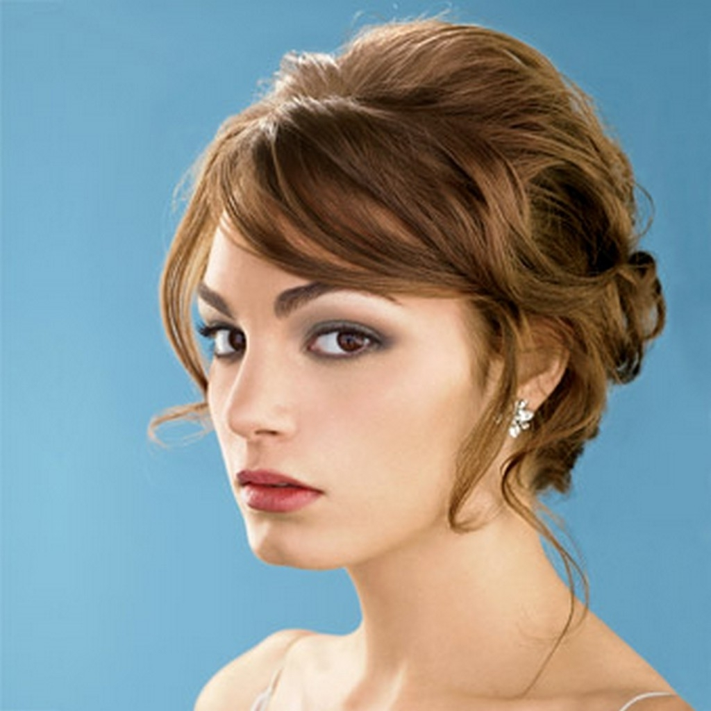 2018 Wedding Hairstyles For Short Hair And Bangs Inside 25 Most Favorite Wedding Hairstyles For Short Hair – The Xerxes (View 2 of 15)