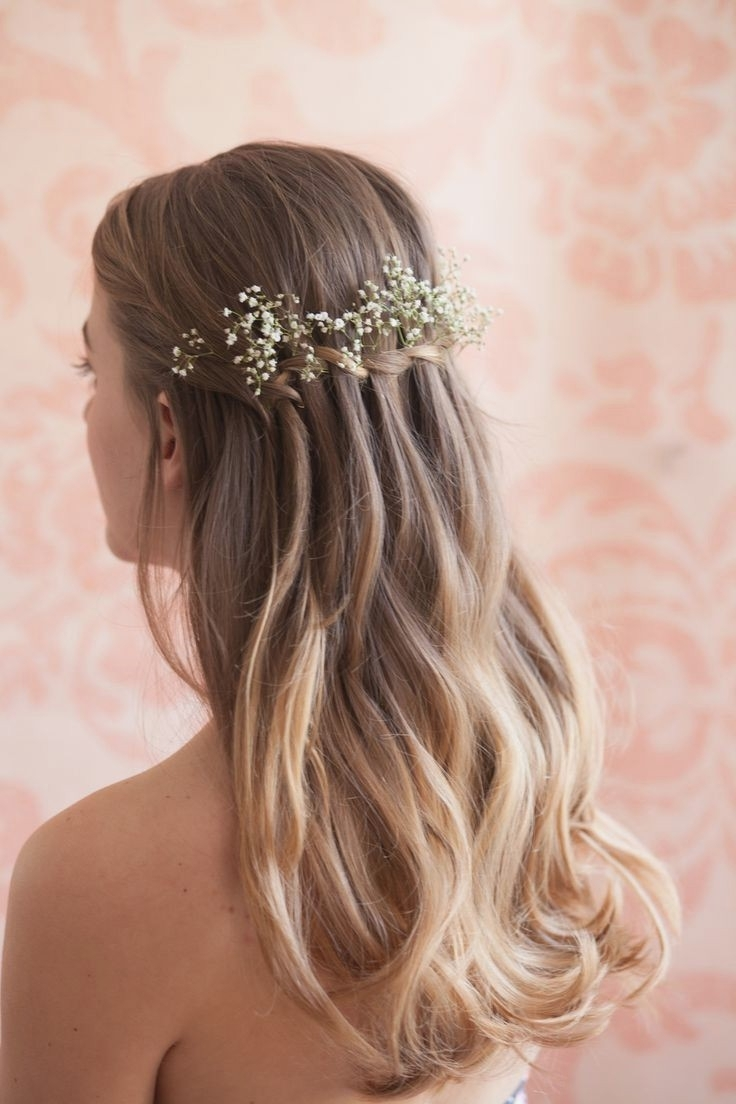 2018 Wedding Hairstyles For Teenage Bridesmaids Inside Wedding Hairstyles : Amazing Wedding Hairstyles For Teenage (View 3 of 15)