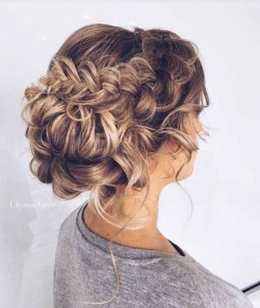 2018 Wedding Hairstyles For Thick Hair Within The Brilliant Wedding Hairstyles Long Thick Hair For The House (View 3 of 15)