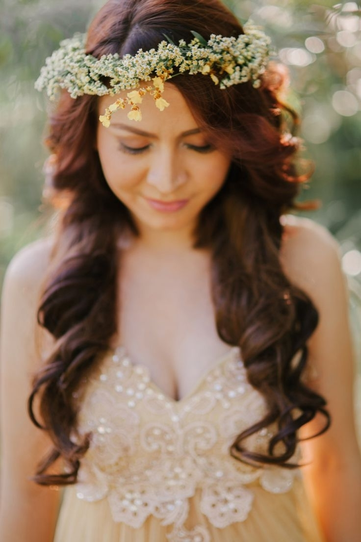 2018 Wedding Hairstyles Like A Princess In Wedding Hairstyles For Long Hair – Dipped In Lace (View 2 of 15)