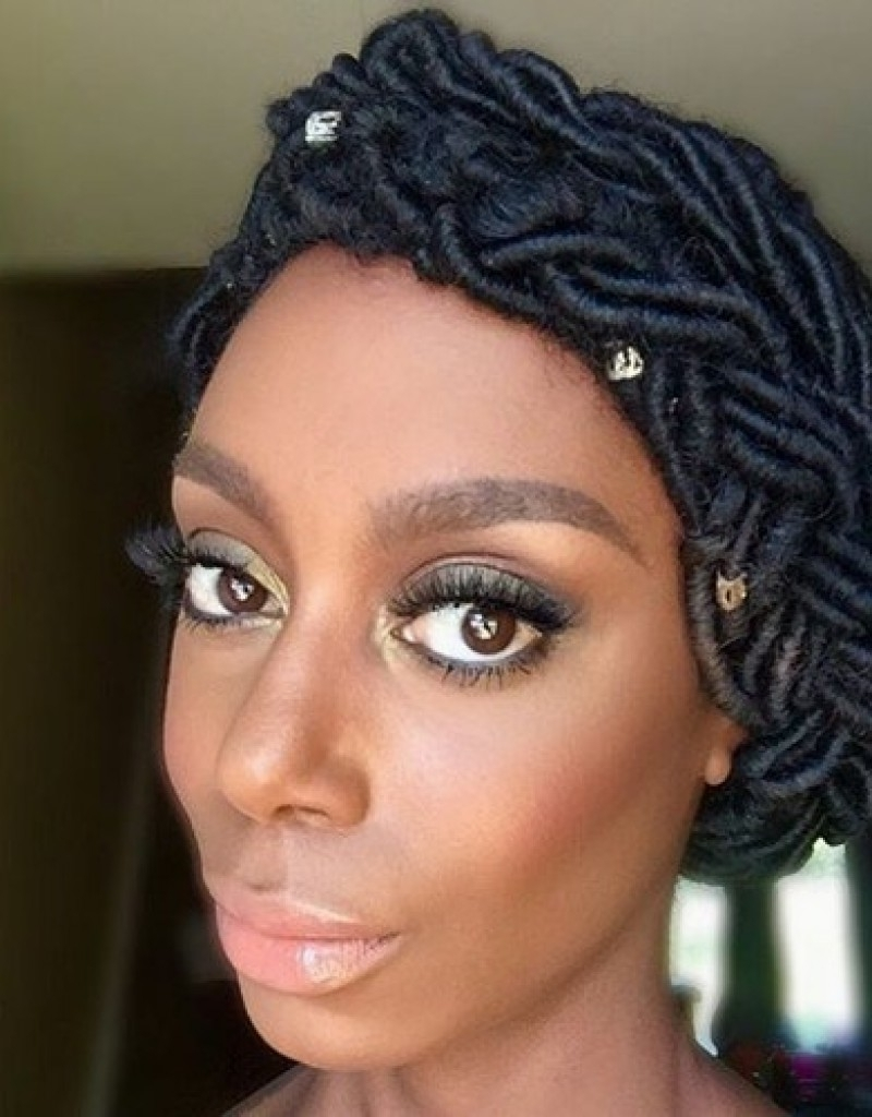 2018 Wedding Hairstyles With Dreads For Dreadlocks For Black Women – Hollywood Official (View 1 of 15)