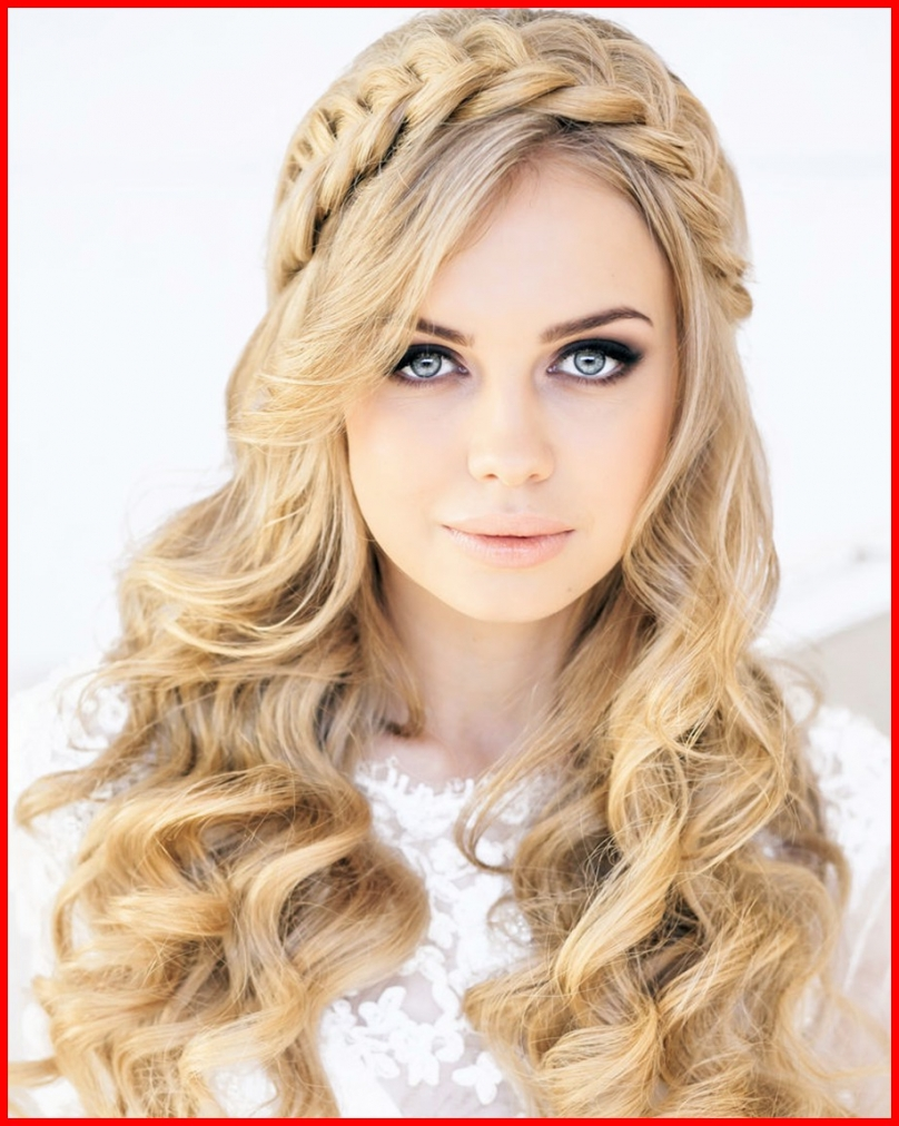 2018 Wedding Hairstyles With Long Hair Down Regarding Fresh Hairstyles For Wedding Long Hair Down Gallery Of Wedding (View 5 of 15)