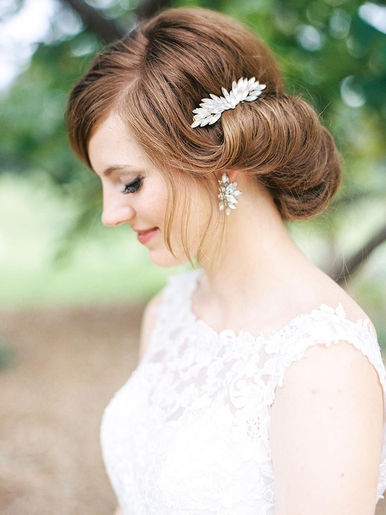 22 Vintage Wedding Hairstyles For Old School Brides (View 10 of 15)