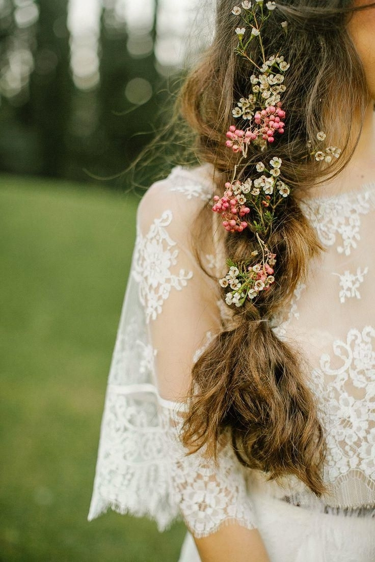 232 Best Wedding Hairstyles Images On Pinterest For Most Recently Released Outdoor Wedding Hairstyles For Bridesmaids (View 14 of 15)