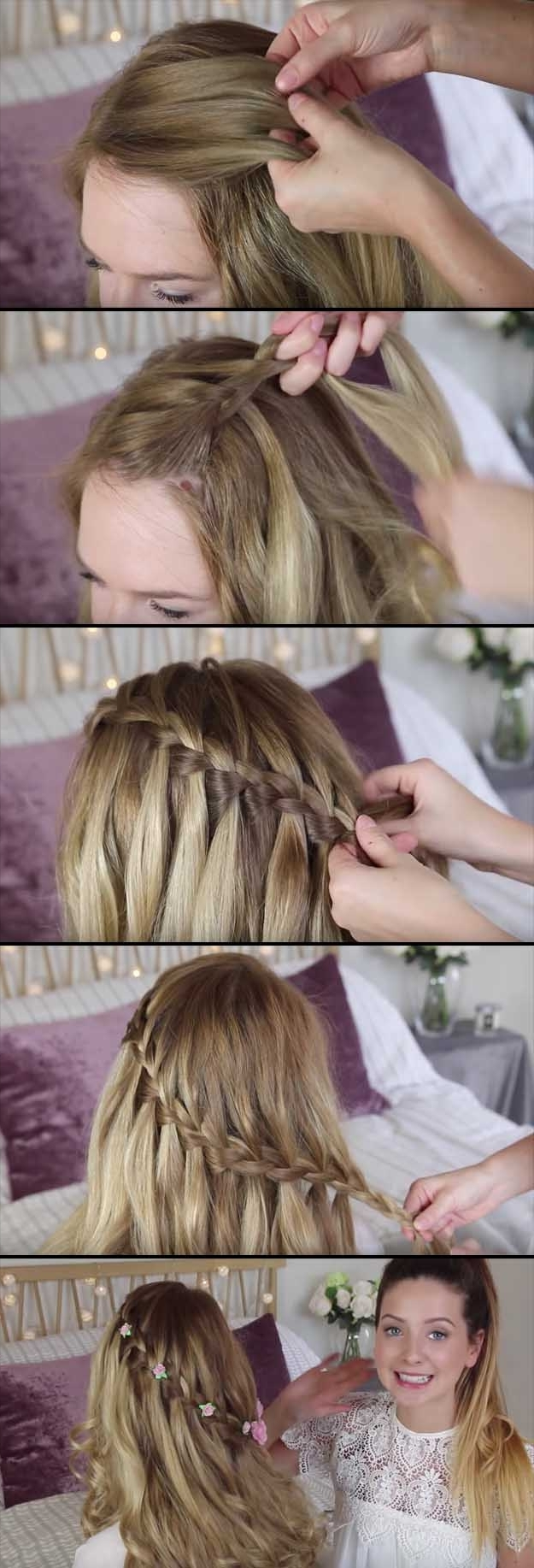 24 Beautiful Bridesmaid Hairstyles For Any Wedding – The Goddess With Most Popular Long Wedding Hairstyles For Bridesmaids (View 2 of 15)