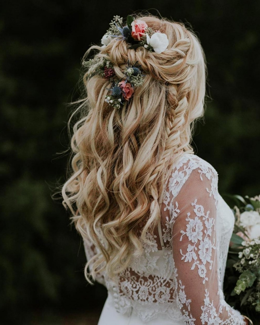 28 Braided Wedding Hairstyles For Long Hair (View 2 of 15)