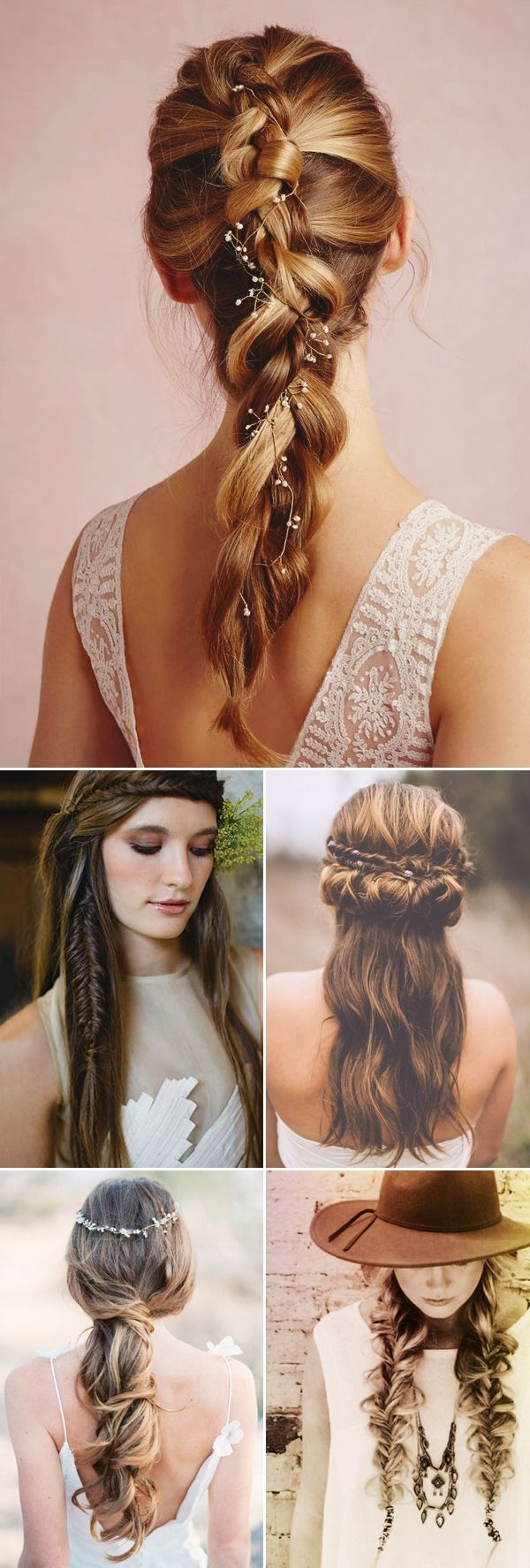 30 Boho Chic Hairstyles For 2016 – Pretty Designs Regarding Trendy Wedding Hairstyles For Long Boho Hair (View 3 of 15)