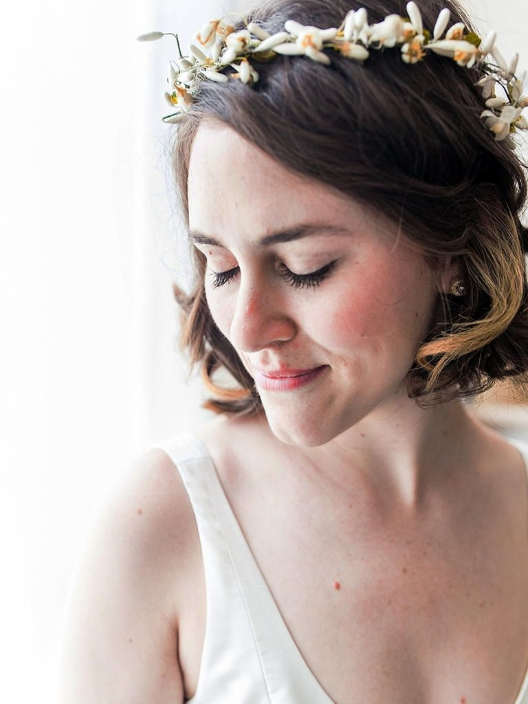 31 Stunning Wedding Hairstyles For Short Hair (View 10 of 15)