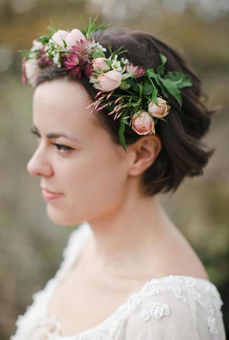 335 Best Floral Crowns & Hairstyles (View 3 of 15)