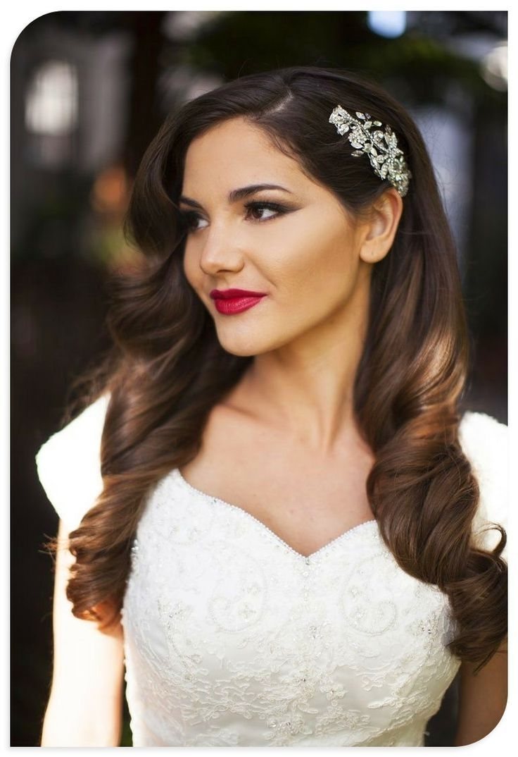 4 Fabulous Hair Trends For The 2015/2016 Wedding Seasonloco Hair Pertaining To 2018 Part Up Part Down Wedding Hairstyles (View 3 of 15)