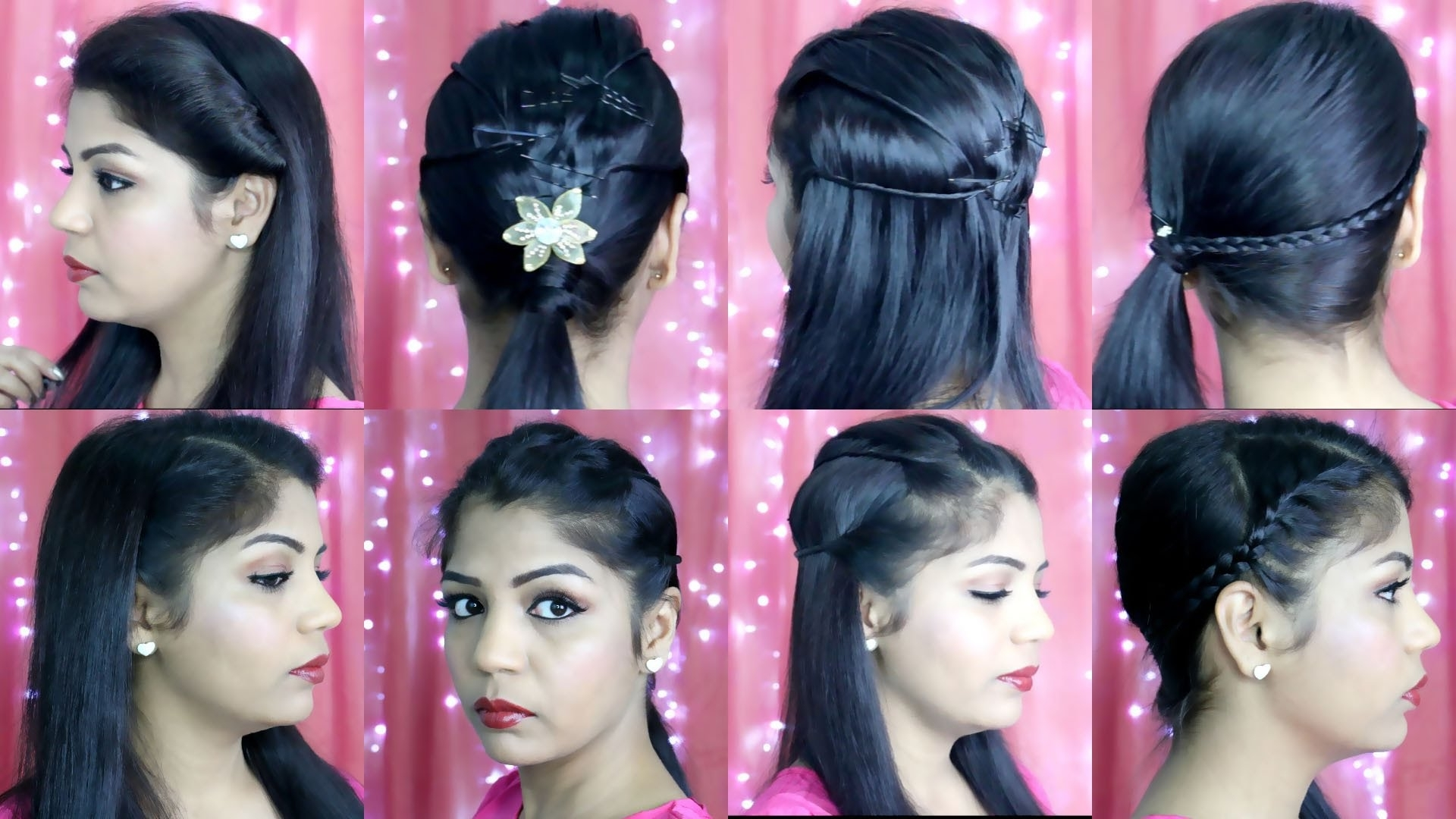 4 Quick And Easy Hairstyles (View 4 of 15)